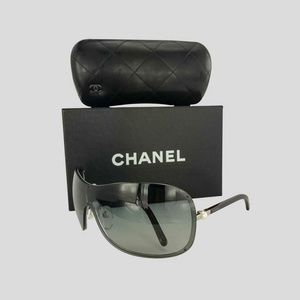 d3047d57b8b0 Chanel Accessories | Brown Shield Perle Collection Sunglasses | Poshmark